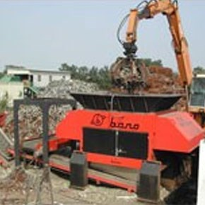 Bano Light Metal and Car Body Shredder