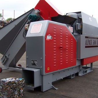 M10 Baler and can sorter