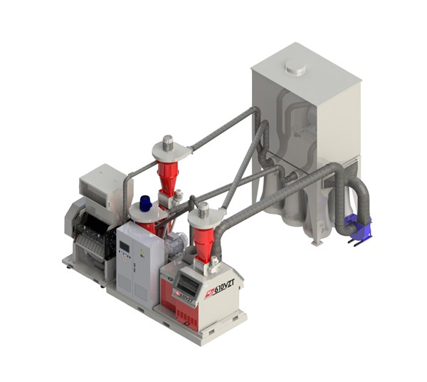 MG 610 VZT Cable Granulator