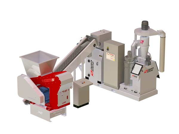 MG 220 Cable Granulator
